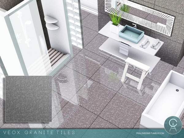 VEOX Granite Tiles by Pralinesims