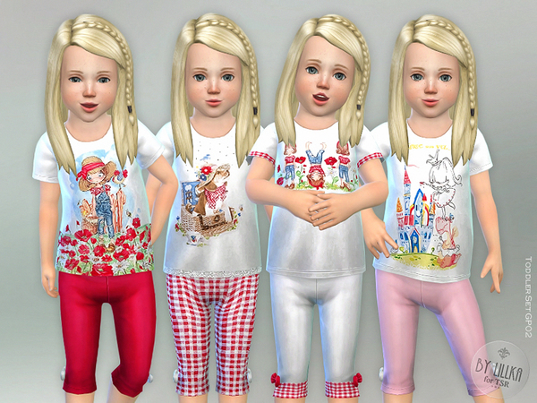 Toddler Set GP02 by lillka