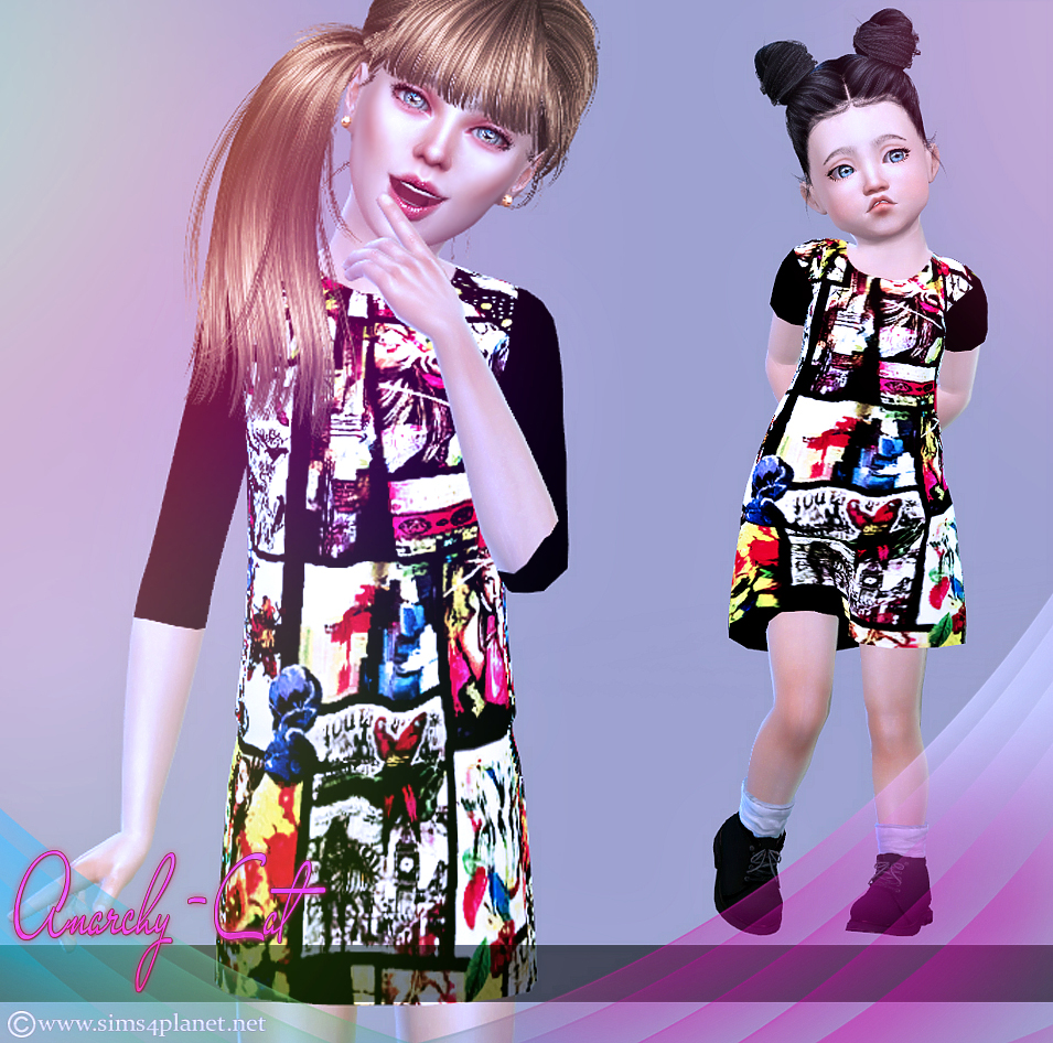 Dress for children & toddler #1 by Anarchy-Cat