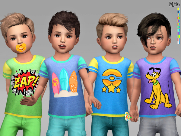 S4 Cool Boy Toddler Tees by Margeh-75