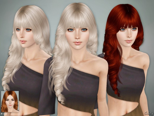Lisa Hairstyle Set by Cazy