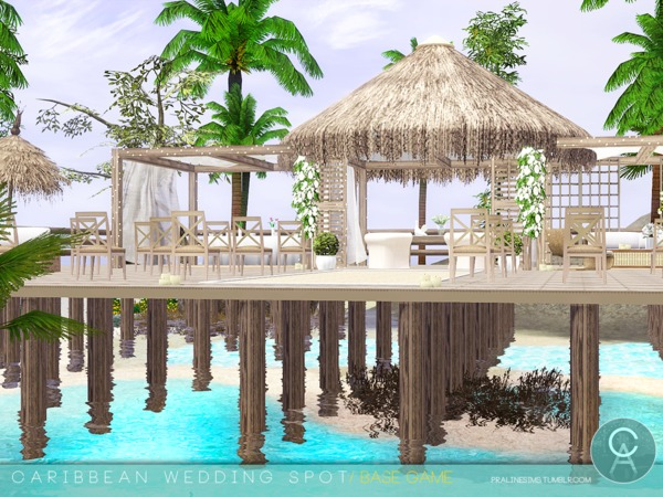 Caribbean Wedding Spot by Pralinesims