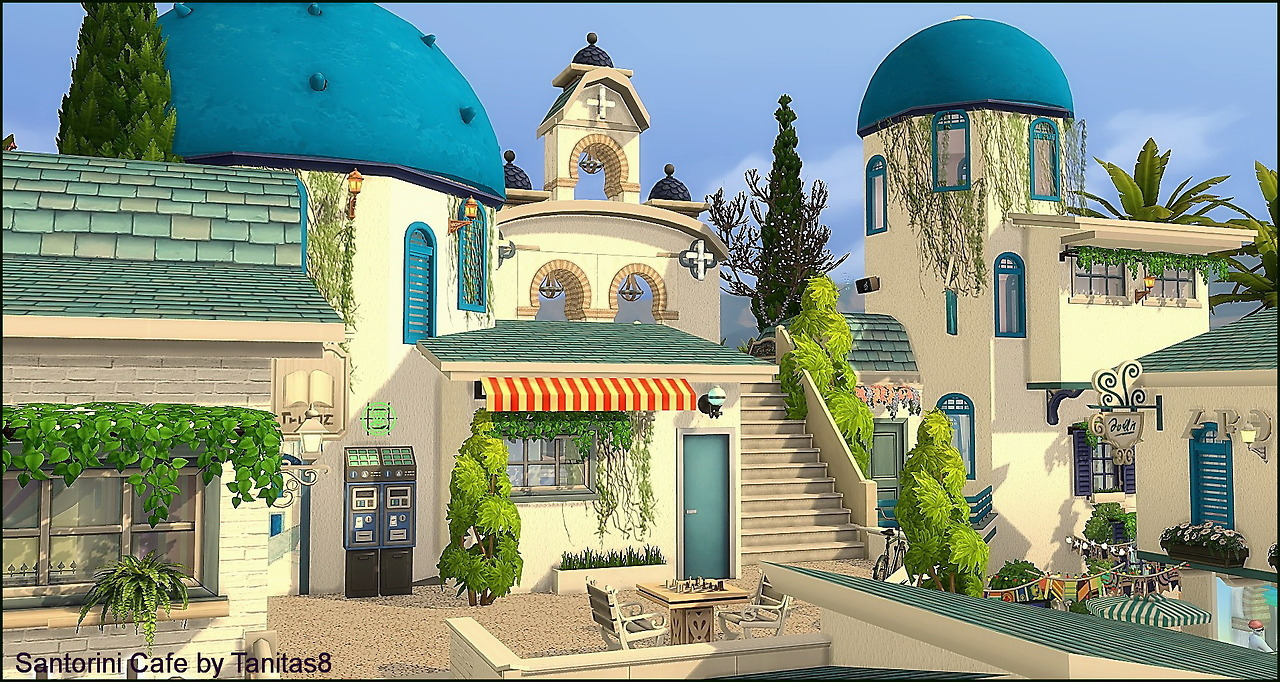 Santorini Cafe by Tanita
