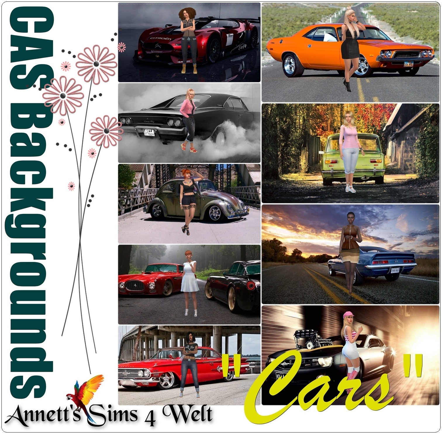 "CAS Backgrounds ""Cars"" by Annett85"