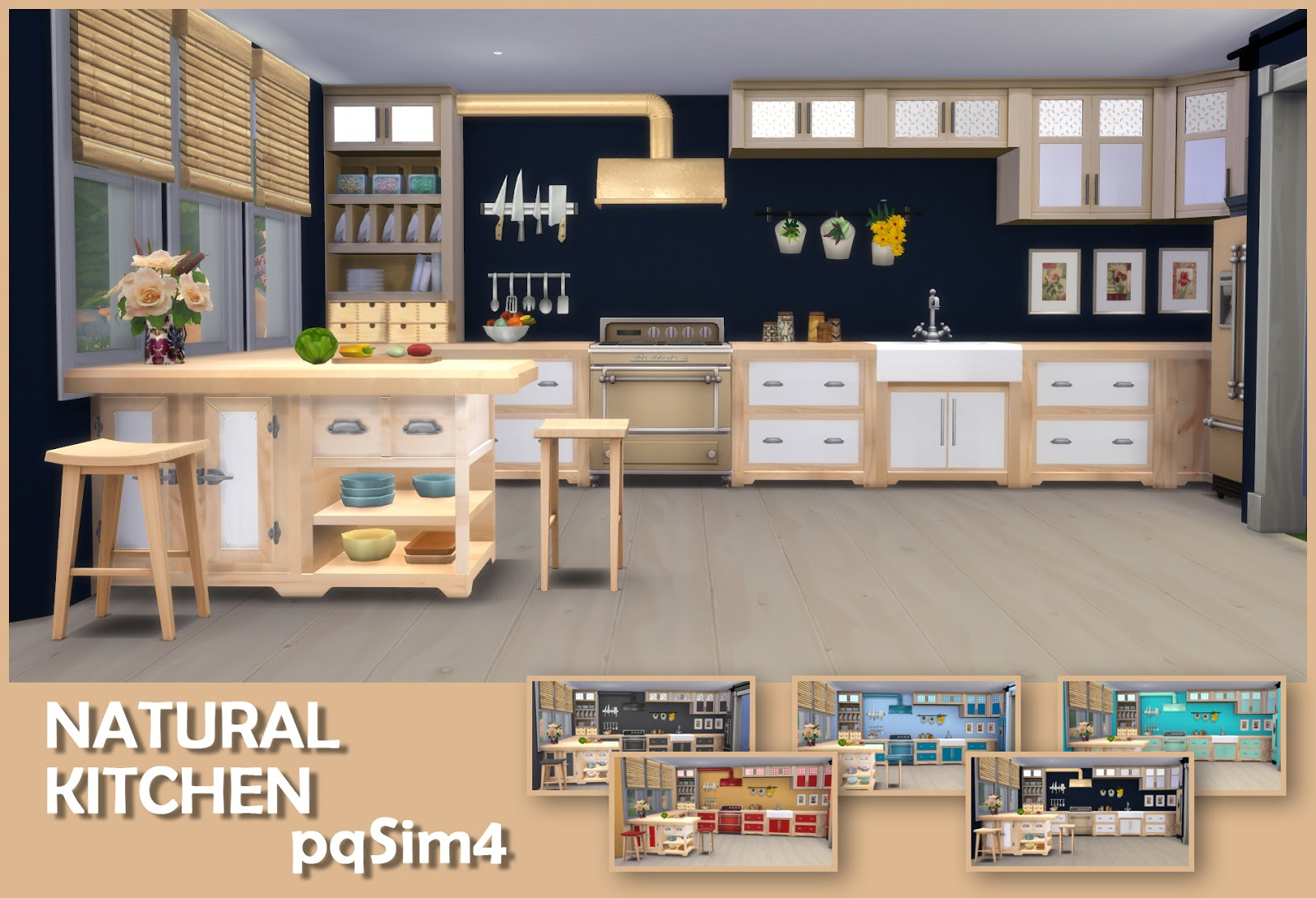 NATURAL KITCHEN  by pqSim4