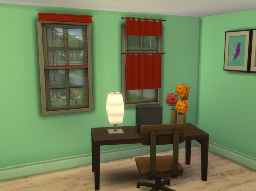 Curtain & Blind - S2 to S4 by ChiLlis Sims