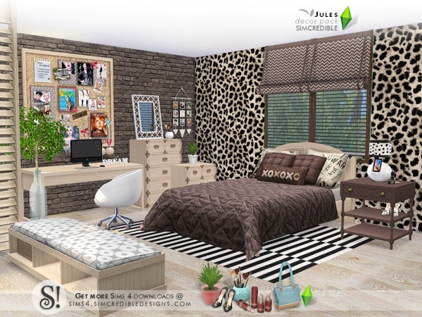 Jules decor pack by SIMcredible