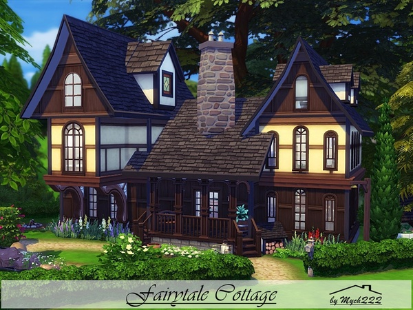 Fairytale Cottage by MychQQQ