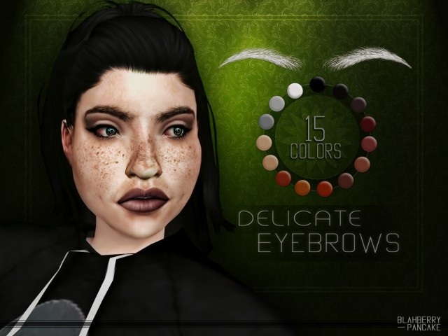 Delicate Eyebrows by BlahberryPancake