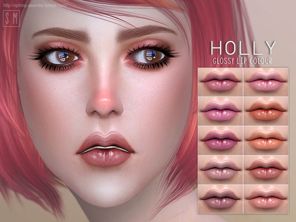[ Holly ] - Glossy Lip Colour by Screaming Mustard