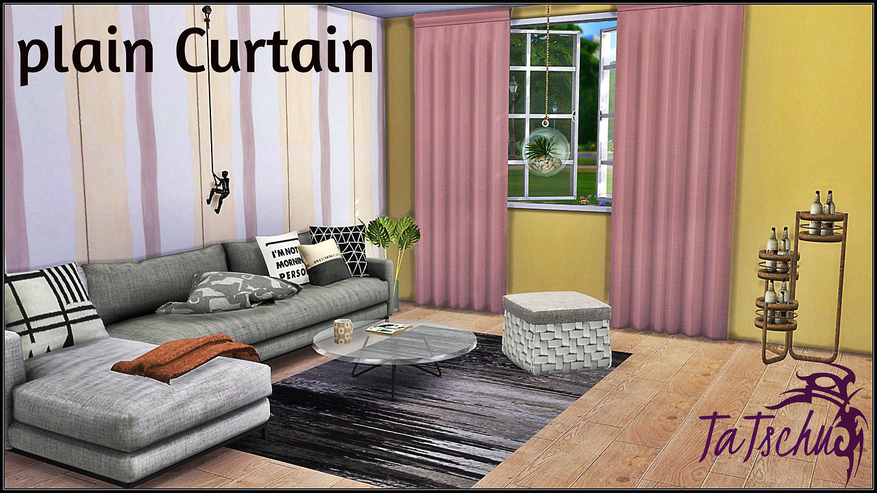Plain Curtains by TaTschu