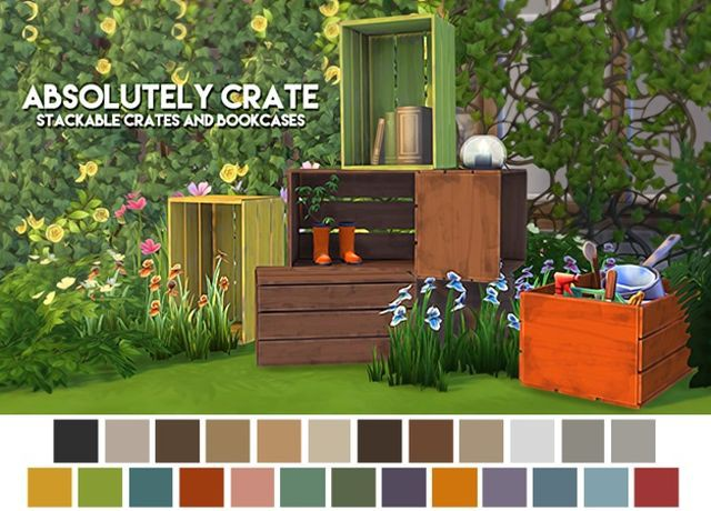 Absolutely Crate by ThePlumbobArchitect