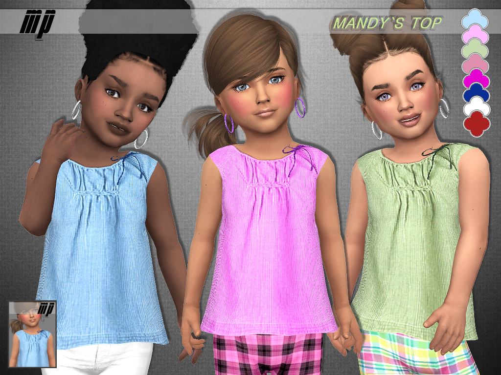 MP Toddler Mandy's Top by MartyP