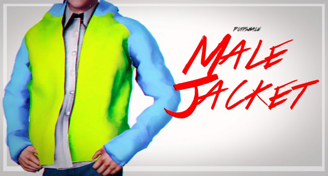MALE JACKET by puffshale