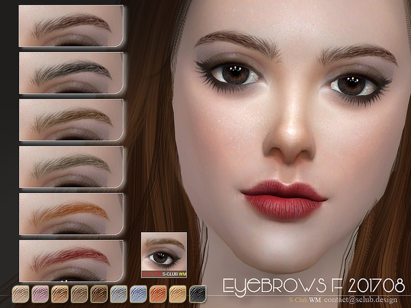 S-Club WM ts4 Eyebrows F 201708