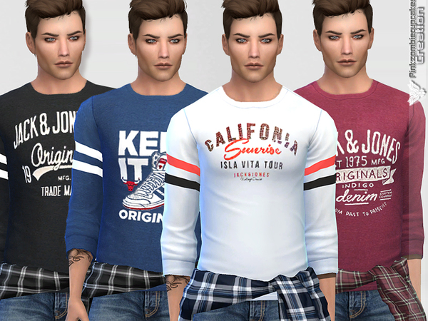Summer Sporty Sweatshirts Collection (Men) by Pinkzombiecupcakes