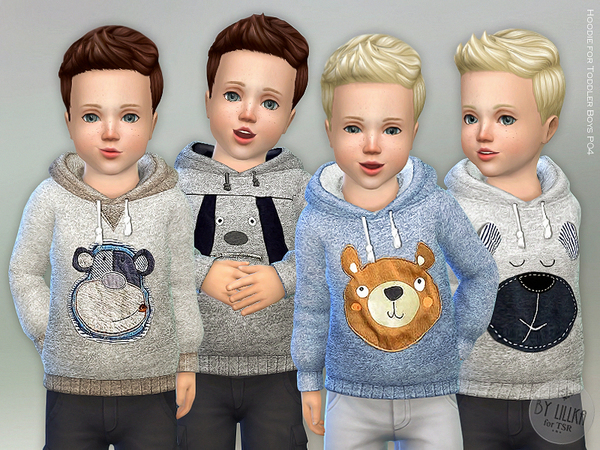 Hoodie for Toddler Boys P04 by lillka