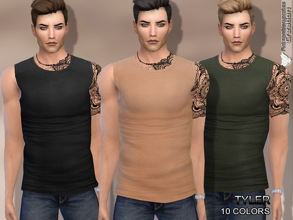 Tyler Tank Top(Men) by Pinkzombiecupcakes