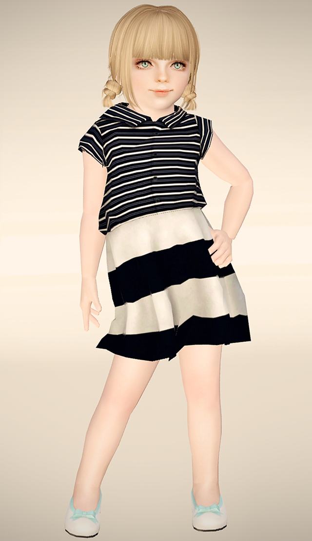 TS4 to TS3 - TsminhSims CindyPCF by Aspettamisims