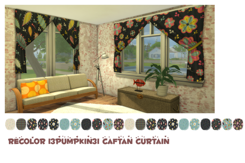 RC Caftan Curtain by ChiLlis Sims