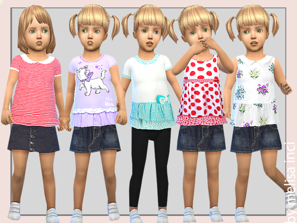 Toddler Pretty Play Dress by melisa inci
