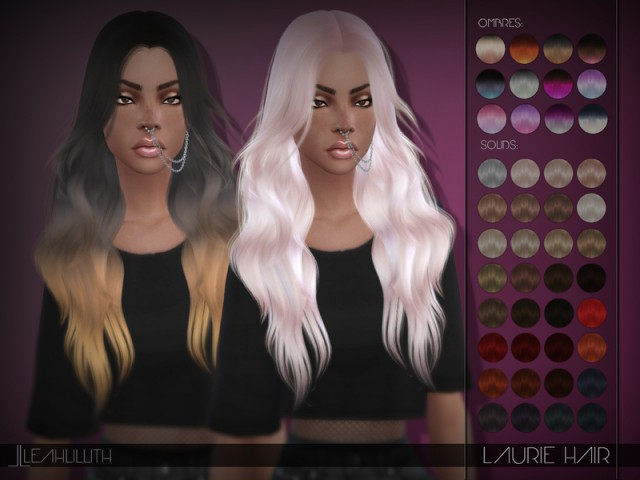 Laurie Hair by LeahLillith