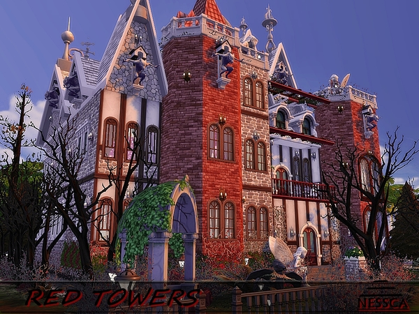 RED TOWERS by Nessca