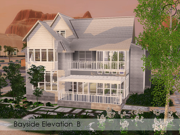 The Bayside Elevation B by timi72