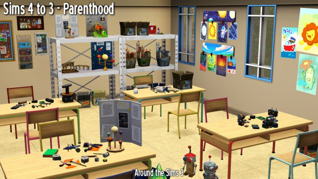Sims 4 to 3 Parenthood by Sandy