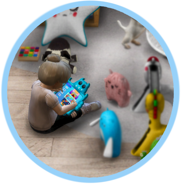 Boo The Monster Toddler Tablet (New Mesh) by Daer0n