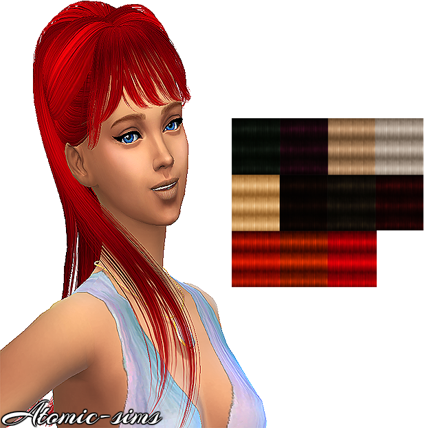 Skysims hair 178 retexture