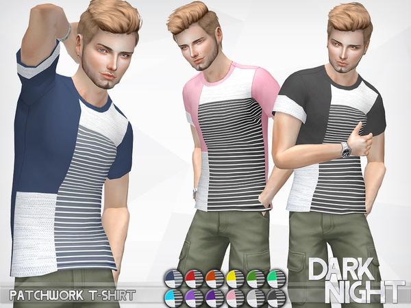 Patchwork T-Shirt by DarkNighTt
