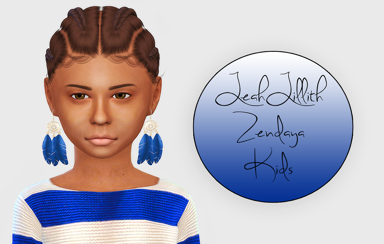 LeahLillith Zendaya - Kids Version by Fabienne