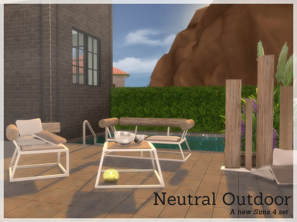 Neutral Outdoorset by Angela