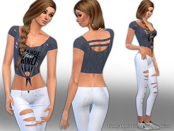 Trendy Outfits Vol 2 by Saliwa