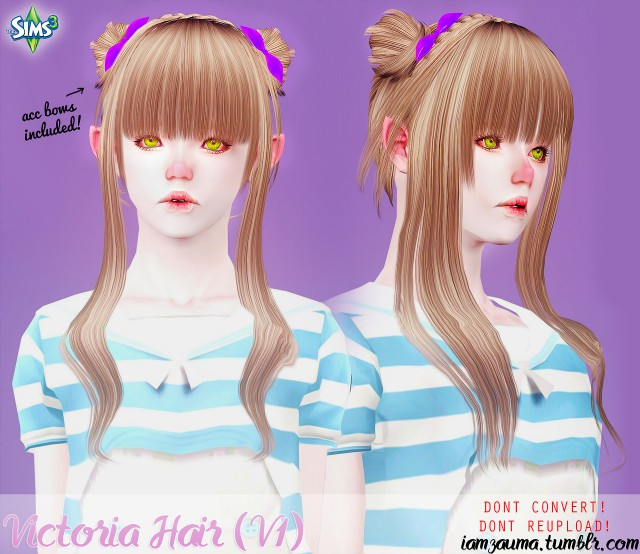 VICTORIA HAIRSTYLE by zauma