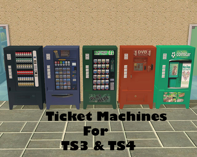 Ticket Machines by yourdorkbrains