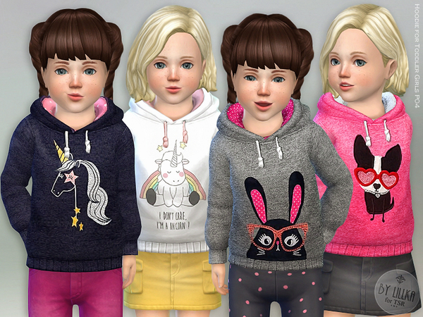 Hoodie for Toddler Girls P04 by lillka