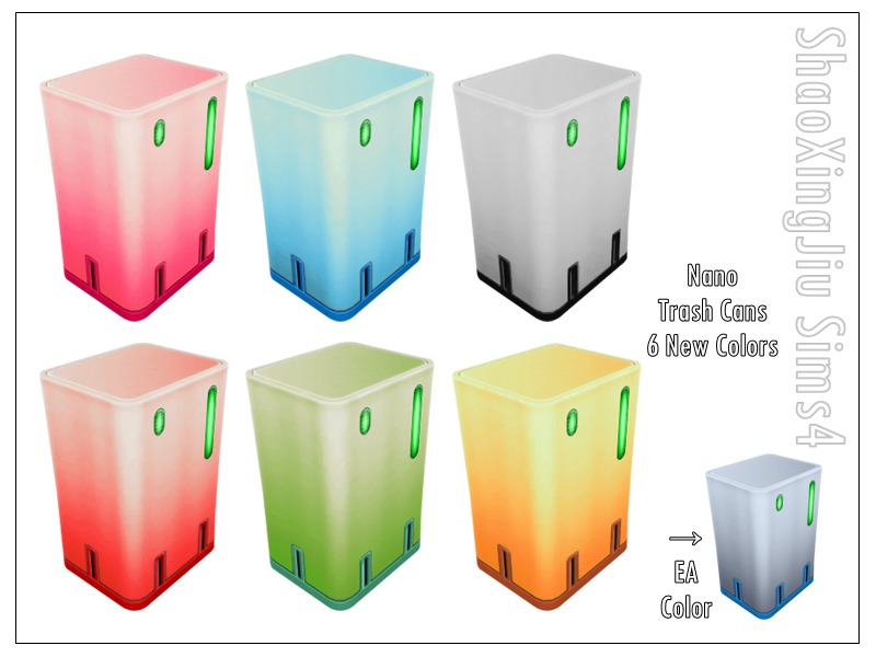 Nano Trash Cans by jeisse197
