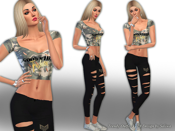 Trendy Outfits Vol 3 by Saliwa
