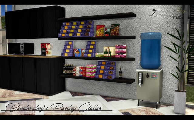 2T4 Beosboxboy Pantry Food + 1950's Water Cooler by Daer0n
