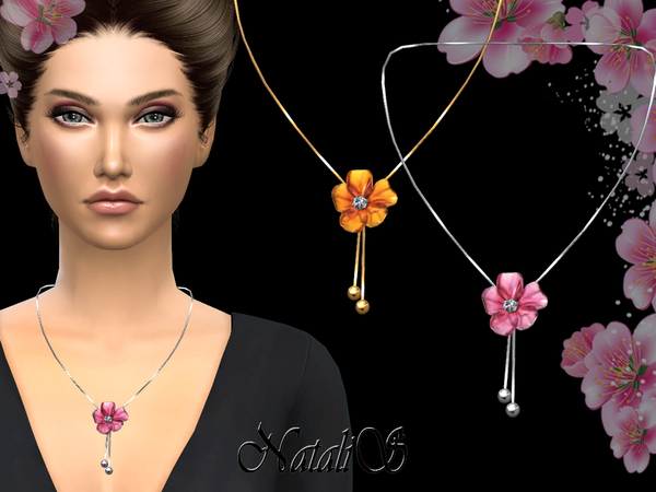 NataliS_Carved flower necklace