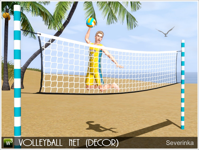 Volleyball net by Severinka