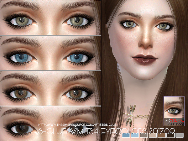 S-Club WM ts4 Eyecolors 201709
