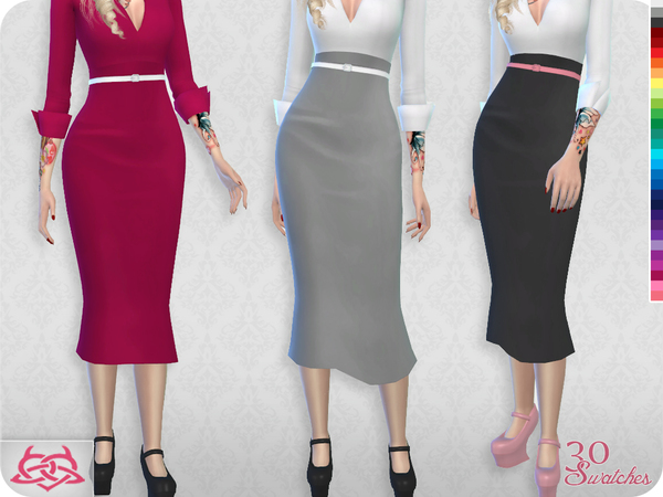 Set Blouse / Skirt (original mesh) by Colores Urbanos