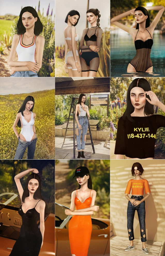 DROPTWO Kendall + Kylie by EVB Clothing от OPSIMS