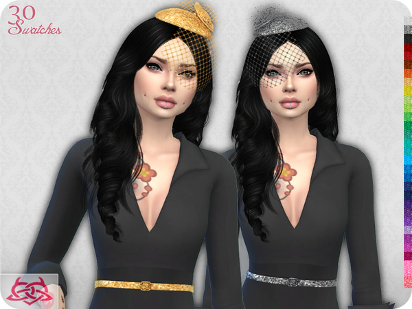 Set Headdress & Belt RECOLOR 1 (Needs mesh) by Colores Urbanos