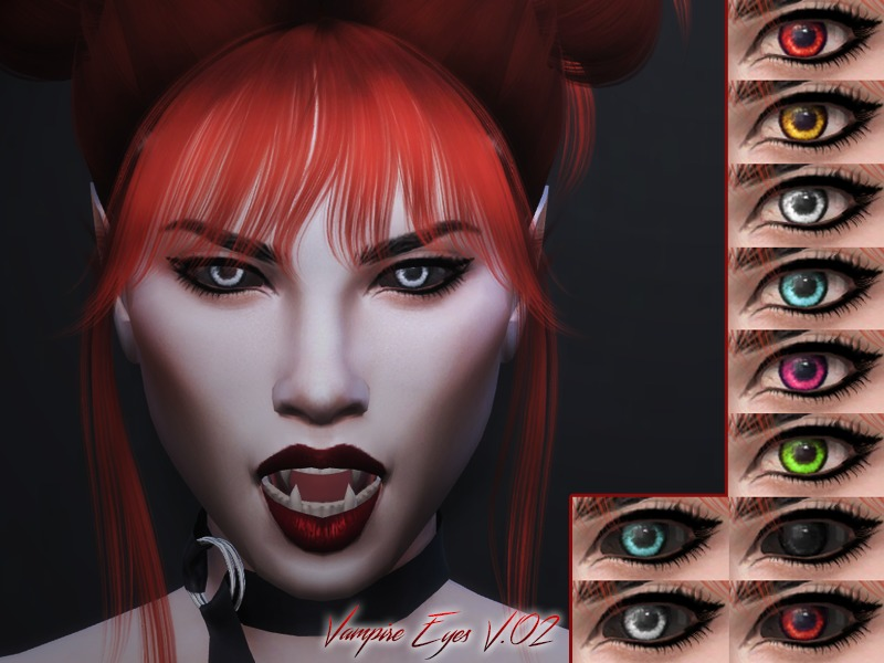 KM Vampire Eyes V.02 by Kitty.Meow