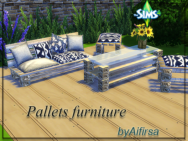 Pallets furniture by Aifirsa