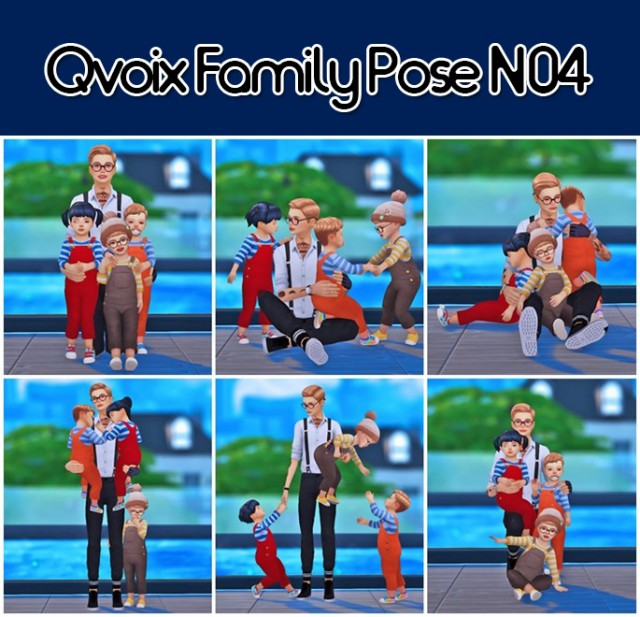 Family Pose N04 by Qvoix